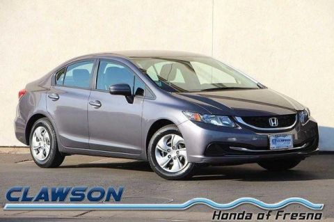 Pre-Owned 2015 Honda Civic 4dr Man LX FWD 4dr Car