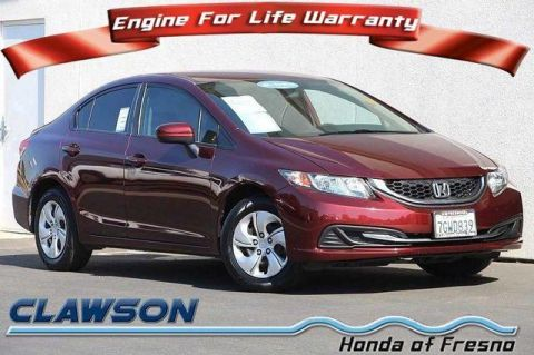 Used Honda Civic 4dr CVT LX