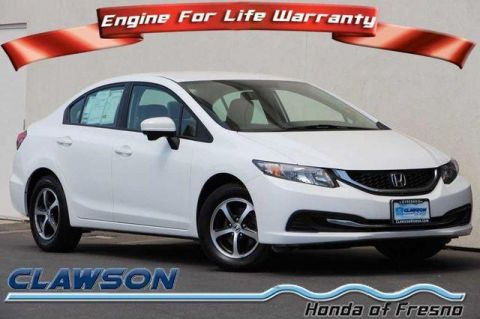 Used Honda Civic 4dr CVT SE