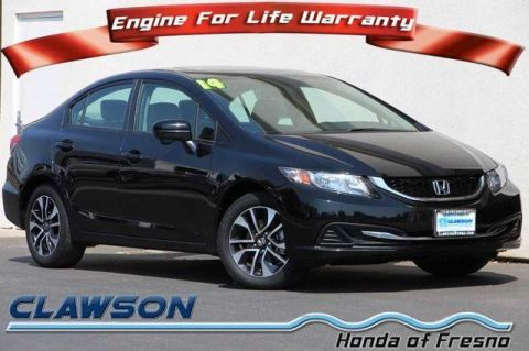 Used Honda Civic 4dr CVT EX
