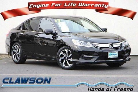Pre-Owned 2017 Honda Accord EX-L CVT FWD 4dr Car
