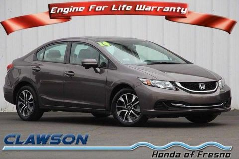 Pre-Owned 2014 Honda Civic 4dr CVT EX FWD 4dr Car