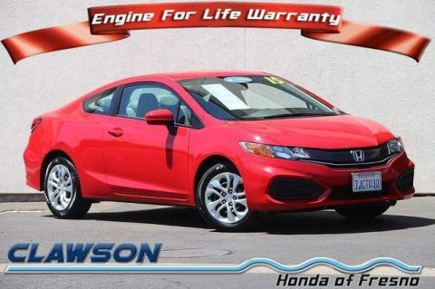 Certified Used Honda Civic 2dr CVT LX