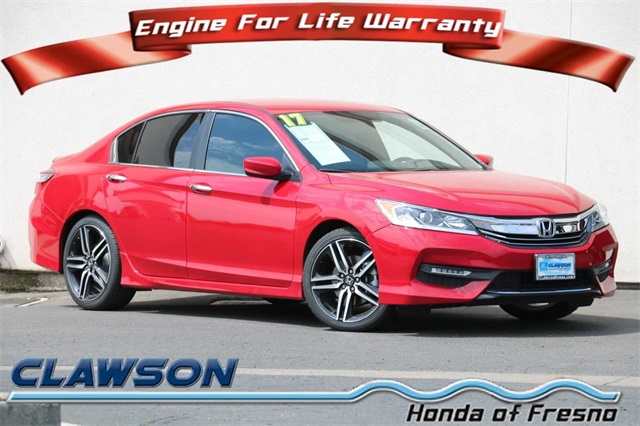 Honda Accord Sport Special Edition >> Pre Owned 2017 Honda Accord Sport Special Edition 4d Sedan In Fresno