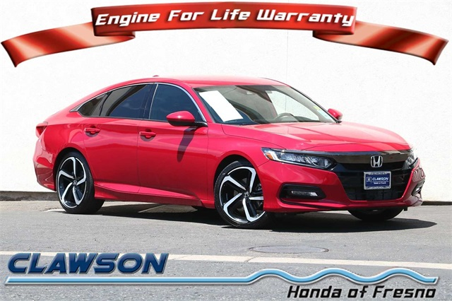 Certified Pre-Owned 2018 Honda Accord Sport
