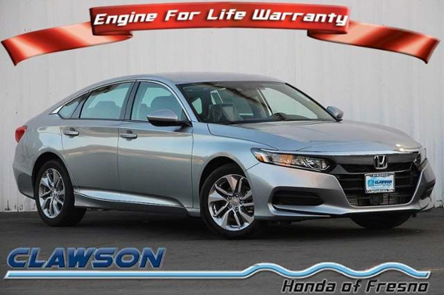 New 2018 Honda Accord Lx 1 5t