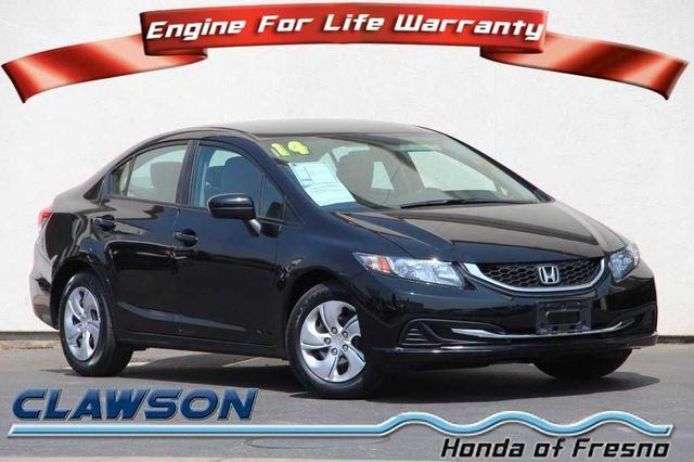Pre-Owned 2014 Honda Civic 4dr Man LX