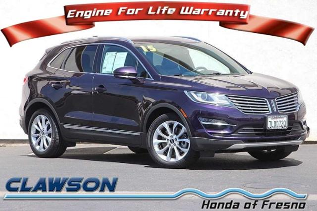 Pre-Owned 2015 Lincoln MKC Sport Utility in Fresno #H38049A ...