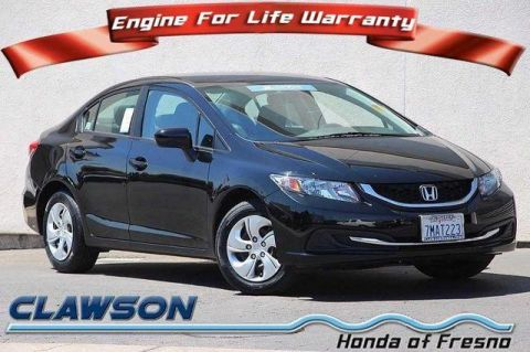 Certified Pre-Owned 2015 Honda Civic 4dr CVT LX