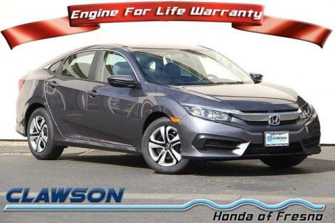 New 2018 Honda Civic LX Manual