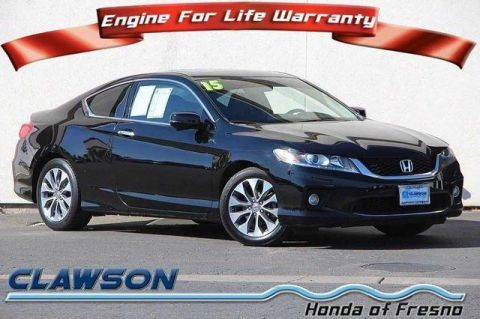 Pre-Owned 2015 Honda Accord 2dr I4 CVT EX