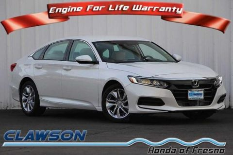 New 2018 Honda Accord LX 1.5T
