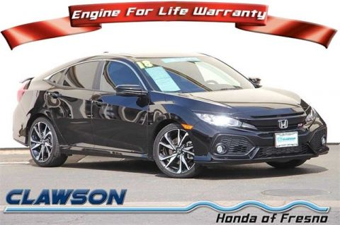 Certified Pre-Owned 2018 Honda Civic Si