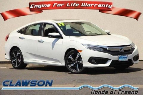 Pre-Owned 2017 Honda Civic Touring CVT