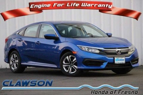 New 2018 Honda Civic LX CVT