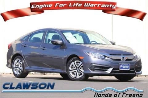 Certified Pre-Owned 2018 Honda Civic LX